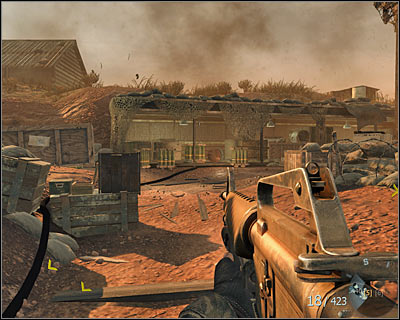 Soon after destroying three T-55 tanks at the beginning of this mission you will be asked to go to another location with your team - S.O.G. | Intel - Intel location - Call of Duty: Black Ops Game Guide & Walkthrough