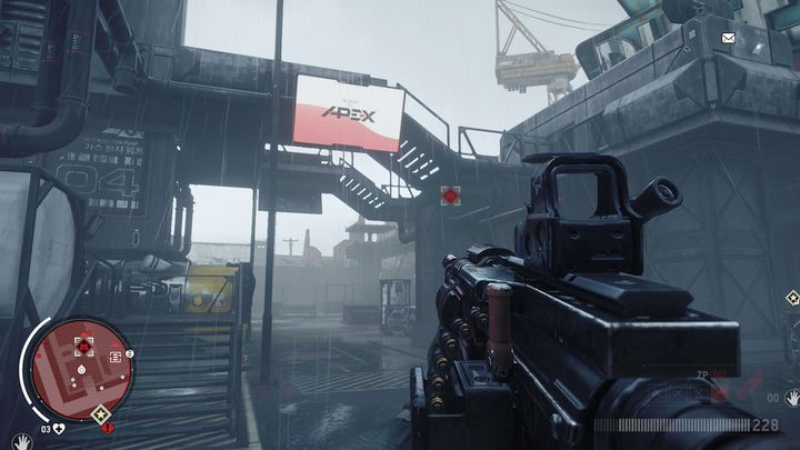 First, eliminate the attacking storm troopers, while staying behind a good cover - Elmtree - Red zone | Key Points - Key Points - Homefront: The Revolution Game Guide & Walkthrough