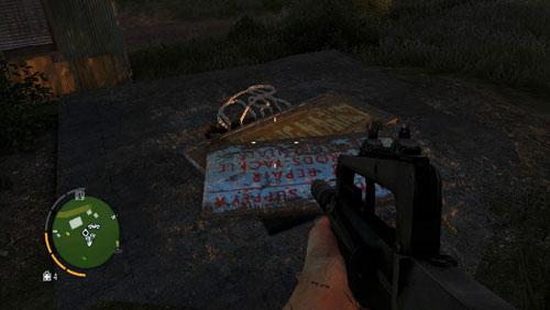 Доберитесь до области, отмеченной красным кружком, чтобы найти спуск, заблокированный плитами - Южный остров - Северо-восточная часть - Объекты культа - Far Cry 3 - Руководство по игре и прохождение