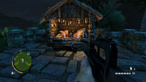 В области, обозначенной как номер восемь, вы найдете алтарь со статуэткой на нем - Южный остров - Северо-восточная часть - Объекты культа - Far Cry 3 - Руководство по игре и прохождение игры