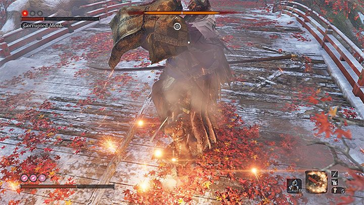 Luckily, there is a simple strategy that will allow you to defeat the True Corrupted Monk - True Corrupted Monk   Sekiro Shadows Die Twice Boss Fight - Bosses - Sekiro Guide and Walkthrough