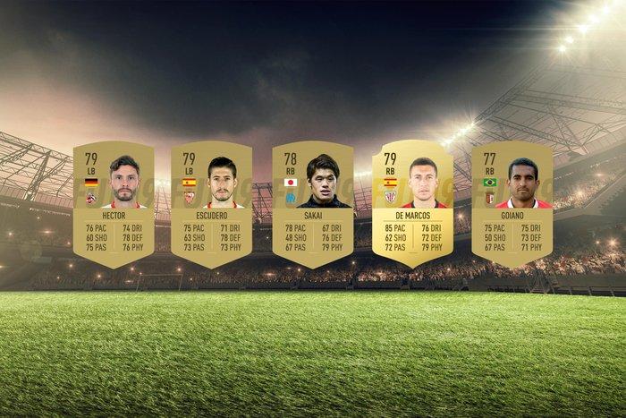 Image of the best bargain full-backs on FIFA 19