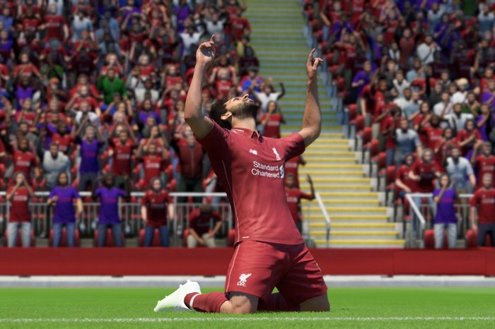 Mohamed Salah in FIFA 19