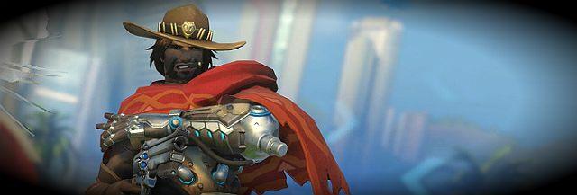McCree to bohater wprost z Westernu, który wymierza sprawiedliwość przy pomocy swojego wiernego sześciostrzałowego przyjaciela - Rozjemcy - Charakterystyka bohaterów i ich kontry - Bohaterowie - Overwatch - poradnik do gry