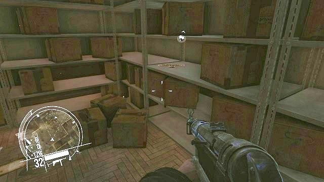 The location of the second collectible. - Mission 1 - Collectibles - Enemy Front - Game Guide and Walkthrough