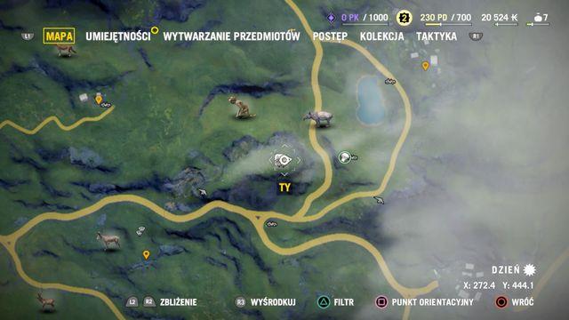 В нижней части карты вы можете увидеть ваши текущие координаты.  - Коллекционирование - Основы - Far Cry 4 - Руководство по игре и прохождение игры
