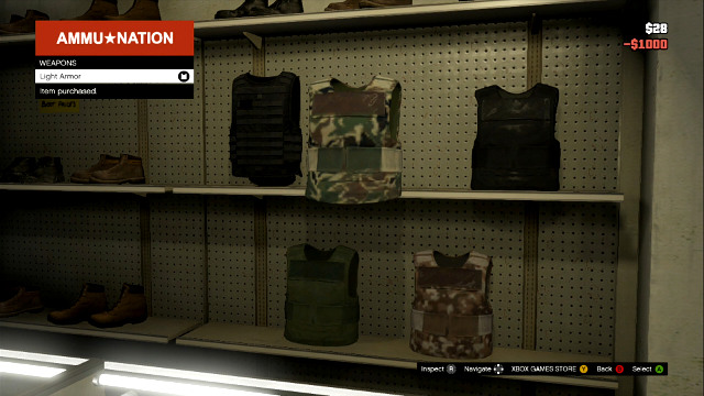 Armors protect you against bullets - Choosing equipment - Basics - Grand Theft Auto V Game Guide