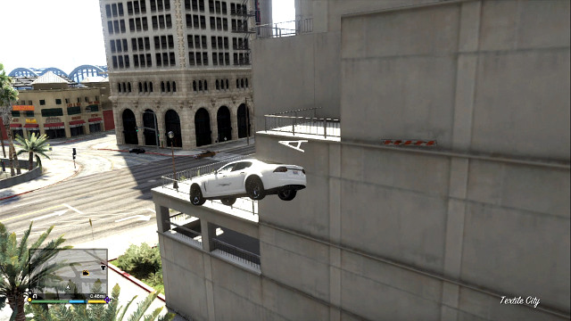 Performing big jumps is necessary for Stunt Challenges - Using vehicles and motorcycles - Basics - Grand Theft Auto V Game Guide