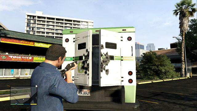 Огонь в замке, чтобы открыть фургон - Как быстро заработать деньги (самый быстрый способ получить деньги) - Основы - Руководство по игре Grand Theft Auto V
