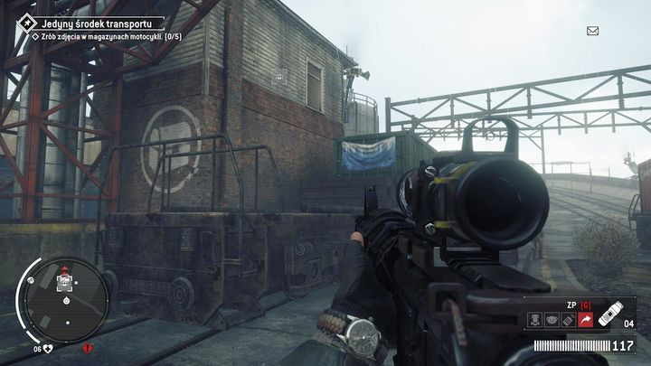 You can get to the first journal through a shipping container depicted above - Elmtree - Red zone | Journals and jobs - Journals and jobs - Homefront: The Revolution Game Guide & Walkthrough