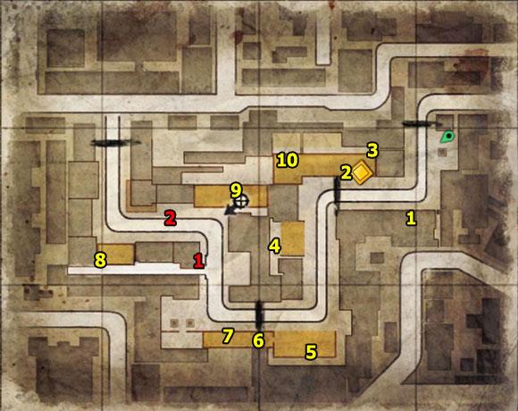 1 - Mission 1   Wine Bottles and Gold Bars - Wine Bottles and Gold Bars - Sniper Elite V2 Game Guide & Walkthrough
