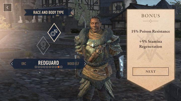 В этот момент Темный эльф и Высокий эльф не очень интересны, потому что, хотя 15% сопротивления стихийному урону очень полезно, бонус к силе заклинаний или регенерации магических очков будет ненужным, потому что большинство заклинаний легки перемежается с противоположной атакой - селекционный выбор в The Elder Scrolls Blades - The Elder Scrolls Blades - Руководство по игре и прохождение игры