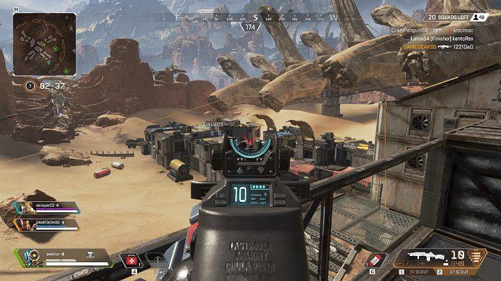 Каждое оружие в Apex Legends имеет дополнительный прицел, который сильно влияет на его точность - Стрельба и баллистические ракеты в Apex Legends - Apex Legends - Руководство по игре и прохождение