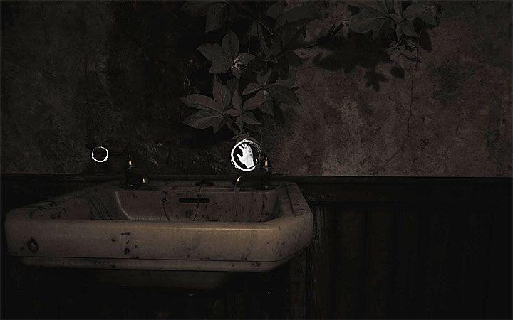 Приходите снова к раковине, но на этот раз открутите правый кран - Загадка с горшком и тенями   Решение загадки в Layers of Fear 2 - Layers of Fear 2 - Руководство по игре