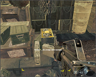 Secret service data is near the ammunition kept in here - S.O.G. | Intel - Intel location - Call of Duty: Black Ops Game Guide & Walkthrough