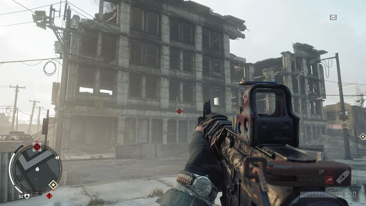 The abandoned apartment is a building opposite the Marian Elmtree hotel, which should be cleared out as fast as you can - Elmtree - Red zone | Key Points - Key Points - Homefront: The Revolution Game Guide & Walkthrough