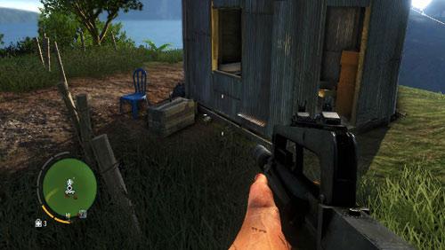 Рядом с небольшим домом, в районе, обозначенном номером двенадцать, вы найдете статуэтку - Южный остров - Северо-восточная часть - Объекты культа - Far Cry 3 - Руководство по игре и прохождение игры