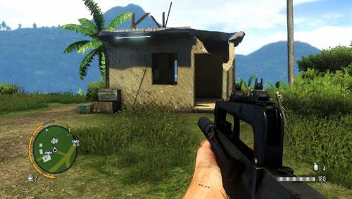 В области, обозначенной как номер два, вы найдете статуэтку внутри дома, показанную на рисунке слева - Южный остров - Юго-западная часть - Объекты культа - Far Cry 3 - Руководство по игре и прохождение игры