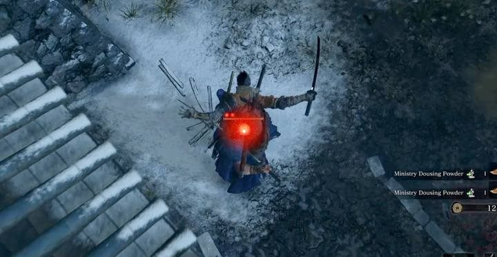 Start the fight by performing a Deathblow from the rooftop. - Shigekichi of the Red Guard   Sekiro Shadows Die Twice Boss Fight - Bosses - Sekiro Guide and Walkthrough