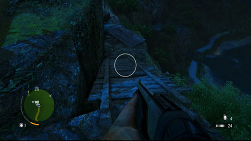 Reach the area marked with the circle in the screenshot - The Northern Island - North-eastern part - Letters of the Lost - Far Cry 3 - Game Guide and Walkthrough