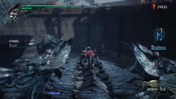 The fight is rather simple - the enemy has only a few attacks - Gilgamesh Boss Fight Guide for DMC5 - Bosses - Devil May Cry 5 Guide