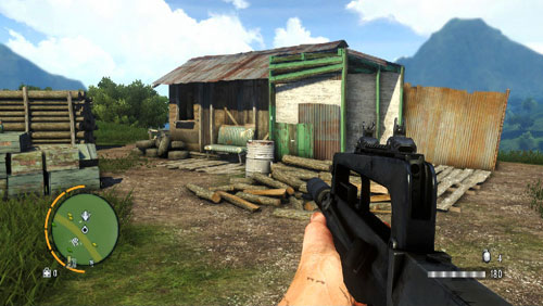 In the area marked as number one, there is a house inside which there is the statuette - The Southern Island - South-eastern part - Cult Objects - Far Cry 3 - Game Guide and Walkthrough