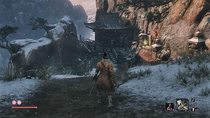 The first path to this mini-boss starts in the main part of Ashina Outskirts, the area you have to go through to reach Ashina Castle - Headless #2   Sekiro Shadows Die Twice Boss Fight - Bosses - Sekiro Guide and Walkthrough