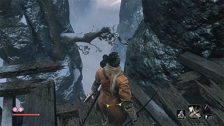 Move from one hook point to another - Headless #2   Sekiro Shadows Die Twice Boss Fight - Bosses - Sekiro Guide and Walkthrough