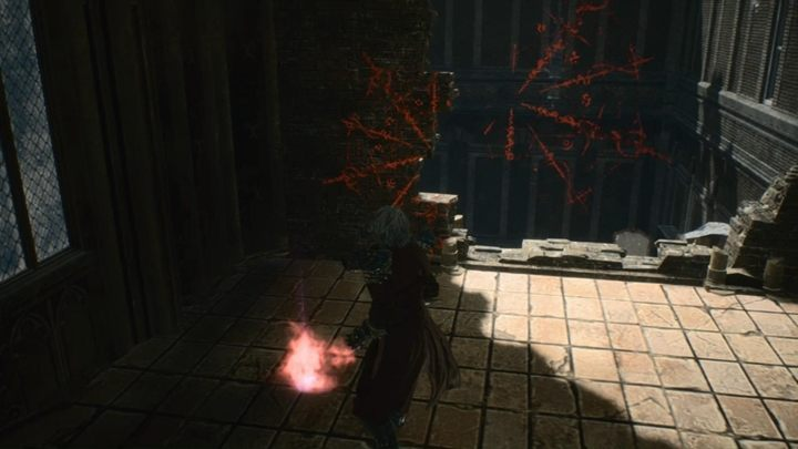 To reach this secret mission, go to the big building - youll see it quite early during the mission - Secret Mission 08 walkthrough for Devil May Cry 5 - Secret missions - Devil May Cry 5 Guide