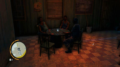 Mini games like poker, sharpshooter, race, knife throwing and supply drop (reaching a designated area within a limited frame of time) or wanted dead (killing a target with a specific kind of weapon), are a stepping stone in the main plot and allow you to earn more money - Mini games - Far Cry 3 - Game Guide and Walkthrough
