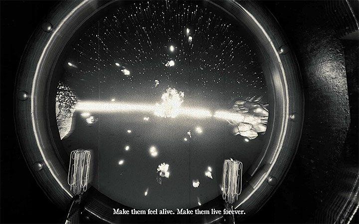 Полет в космосе начнется после приближения к построенной ракете и взаимодействия с ее видоискателем - Руководство по игре и прохождение игры - Слои страха 2 - Слои страха 2 - Руководство по игре и прохождение игры