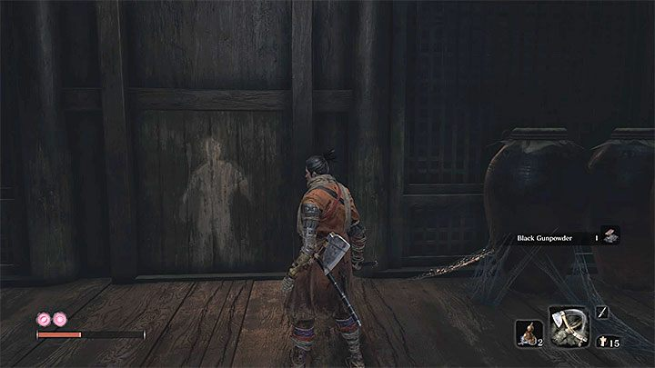 This path is much easier - you wont have to jump between hook points located above a chasm - Headless #2   Sekiro Shadows Die Twice Boss Fight - Bosses - Sekiro Guide and Walkthrough