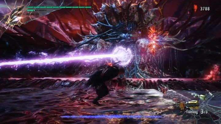 Urizen uses the same attacks as in the prologue - Urizen (Mission 08) Boss Fight Guide for DMC5 - Bosses - Devil May Cry 5 Guide