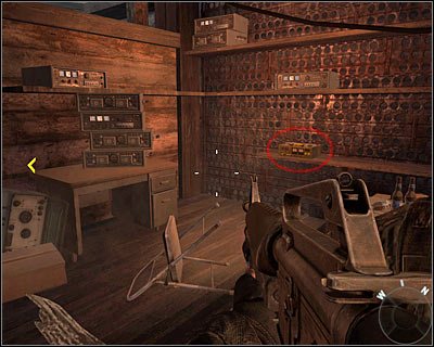 While exploring the building stop after finding few objects - the secret is hidden among them - S.O.G. | Intel - Intel location - Call of Duty: Black Ops Game Guide & Walkthrough