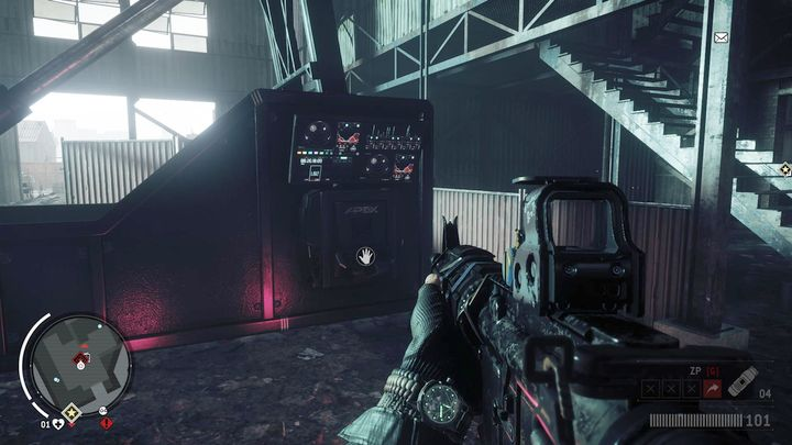 To take over the building, you need to reach the mezzanine, where you can find the KPA computer - Elmtree - Red zone | Key Points - Key Points - Homefront: The Revolution Game Guide & Walkthrough