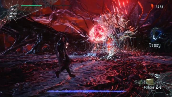 Also, the crystal can create spikes - if you get hit by them, Nero will be sent backward - Urizen (Mission 08) Boss Fight Guide for DMC5 - Bosses - Devil May Cry 5 Guide