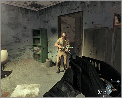 After meeting Reznow, use the exit which now is no longer blocked - The Defector | Intel - Intel location - Call of Duty: Black Ops Game Guide & Walkthrough