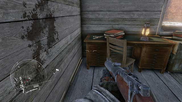The location of the 2nd secret. - Mission 10 - Collectibles - Enemy Front - Game Guide and Walkthrough