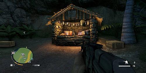 Идите по дороге, пока не дойдете до ее конца, чтобы оказаться перед алтарем с статуэткой на нем - Северный остров - Северо-западная часть - Объекты культа - Far Cry 3 - Руководство по игре и прохождение игры