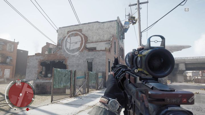 An entrance to seventh warehouse can be found in the place depicted above - Holloway - Red zone | Journals and jobs - Journals and jobs - Homefront: The Revolution Game Guide & Walkthrough