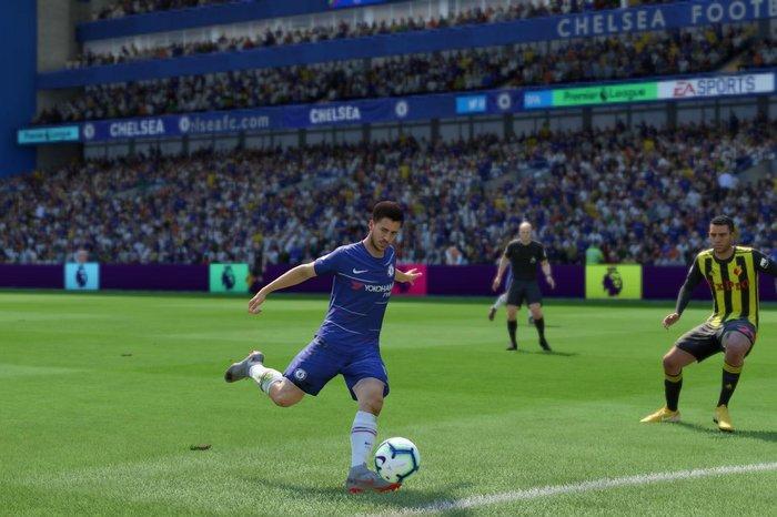 Eden Hazard in FIFA 19
