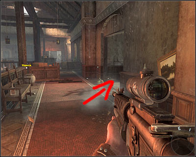 After reaching a burning building secure the whole floor and the use the passage on the right - Operation 40 | Intel - Intel location - Call of Duty: Black Ops Game Guide & Walkthrough