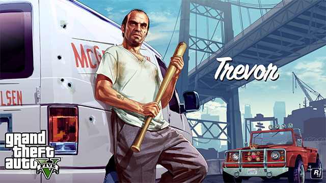 Trevor is an experienced pilot - Trevor - Main characters - Grand Theft Auto V Game Guide