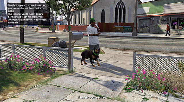 Chop - Chop - Friendships and Love Affairs - Grand Theft Auto V Game Guide