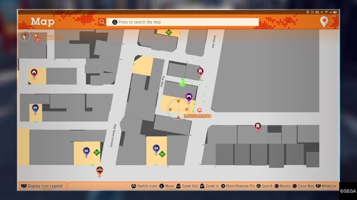 Description: Meet with the customer and you will receive a request to find a very precious cat - Bar Tender | Judgment side investigations walkthrough - Side investigations - Judgment Guide
