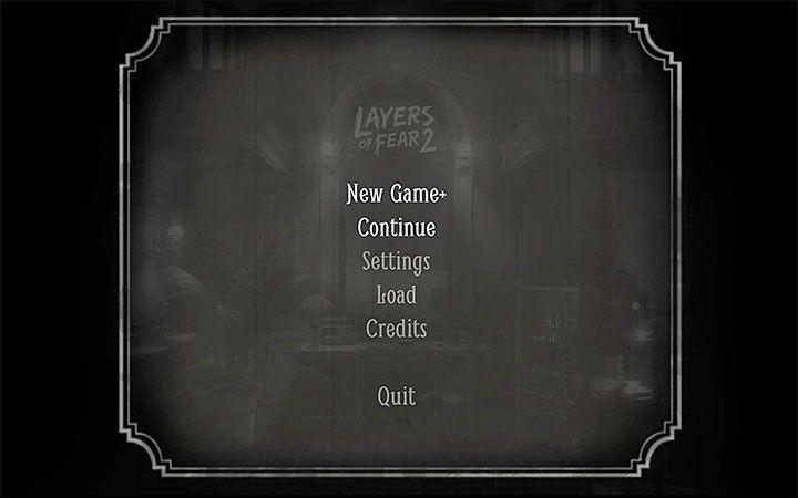 После завершения игры вернитесь в главное меню и выберите «Новая игра +» - она вас захлестнет Трофей в Layers of Fear 2 - Layers of Fear 2 - Руководство по игре и прохождение игры