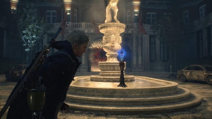 When you have completed the challenge, you will get a fragment of the blue sphere and you will be able to continue the mission - Secret mission 01 walkthrough for Devil May Cry 5 - Secret missions - Devil May Cry 5 Guide