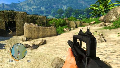 Доберитесь до области, обозначенной как номер один, чтобы найти бункер, показанный на скриншоте - Северный остров - Юго-восточная часть - Письма о потерянных - Far Cry 3 - Руководство по игре и прохождение игры