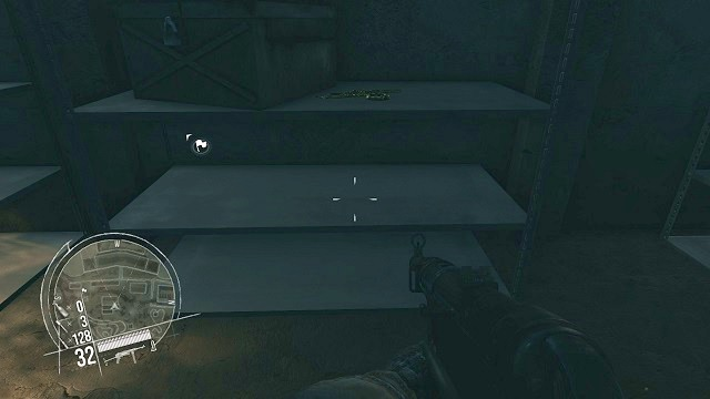The location of the 3rd secret. - Mission 11 - Collectibles - Enemy Front - Game Guide and Walkthrough