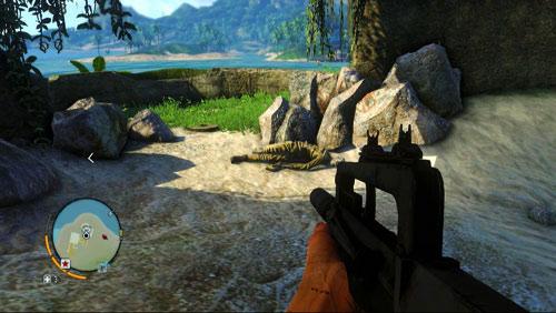 Перейдите на правую сторону по отношению к предыдущему скриншоту, чтобы найти труп и букву - Северный остров - Юго-восточная часть - Письма потерянных - Far Cry 3 - Руководство по игре и прохождение игры